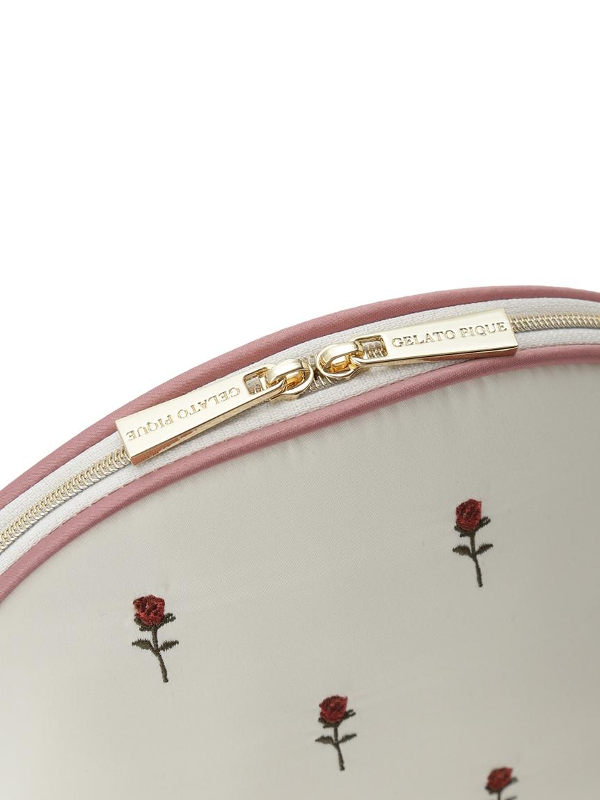 イチゴ・ローズ刺繍ポーチ | PWGB214628