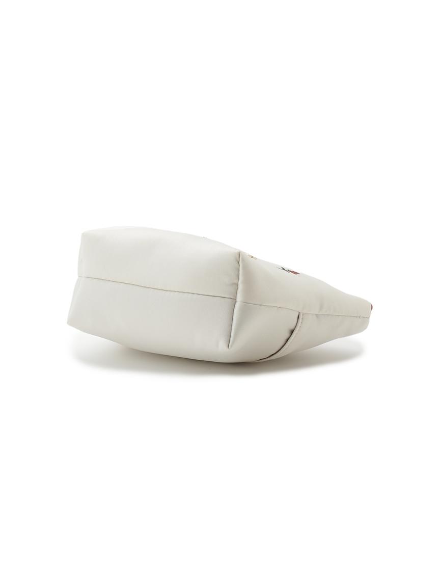 イチゴ・ローズ刺繍ティッシュポーチ   PWGB214629