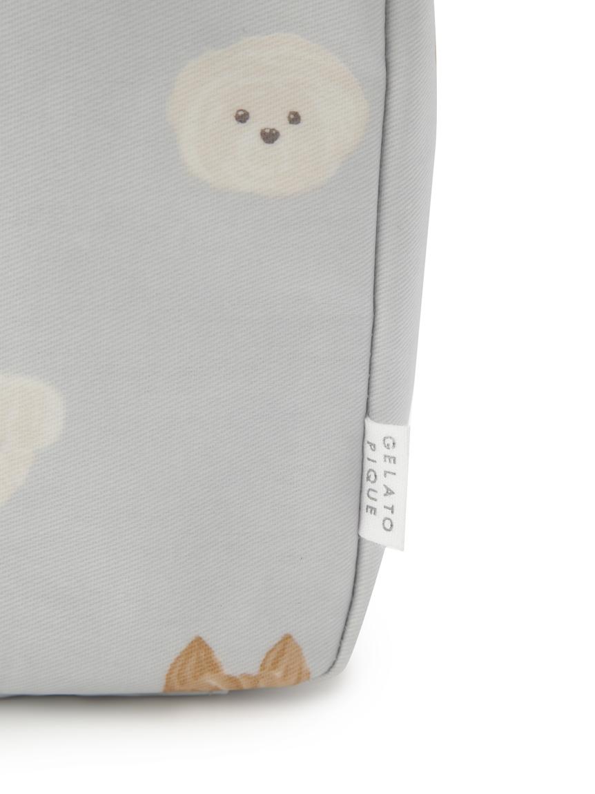 メレンゲドッグ柄おむつポーチ | PWGB215578