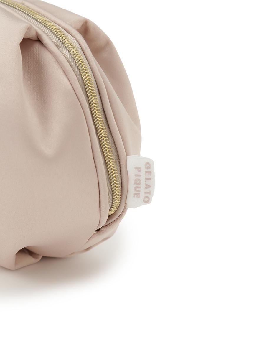 【ラッピング】サテンベア刺繍ポーチ&リップクリームSET | PWGB219315