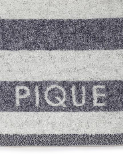 メランジボーダーフェイスタオル   PWGG211607