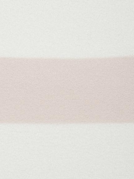【ラッピング】'スムーズィーライト'2ボーダーブランケット&ヘアバンドSET | PWGG219144