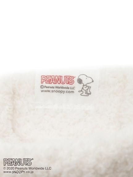 【PEANUTS】'ベビモコ'ジャガードソックス   PWGS205588