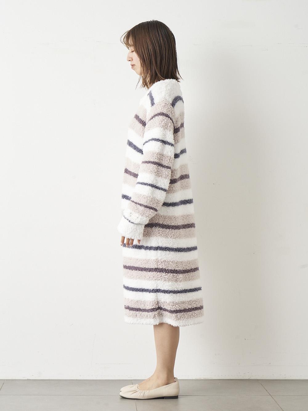 'ジェラート'ランダムボーダードレス | PWNO211101