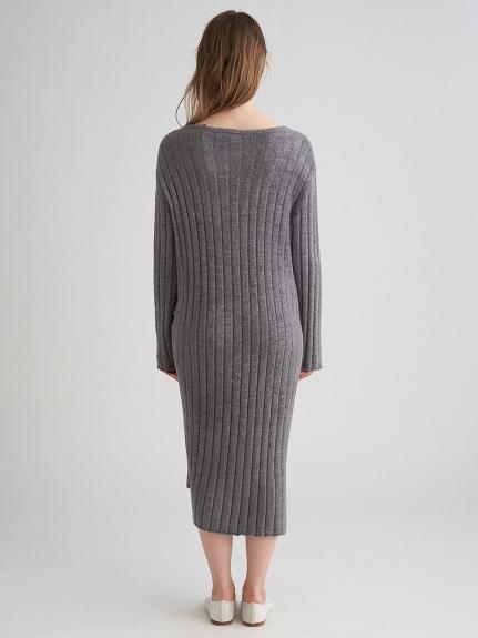 '調温スムーズィー'ブラインドリブドレス | PWNO211105