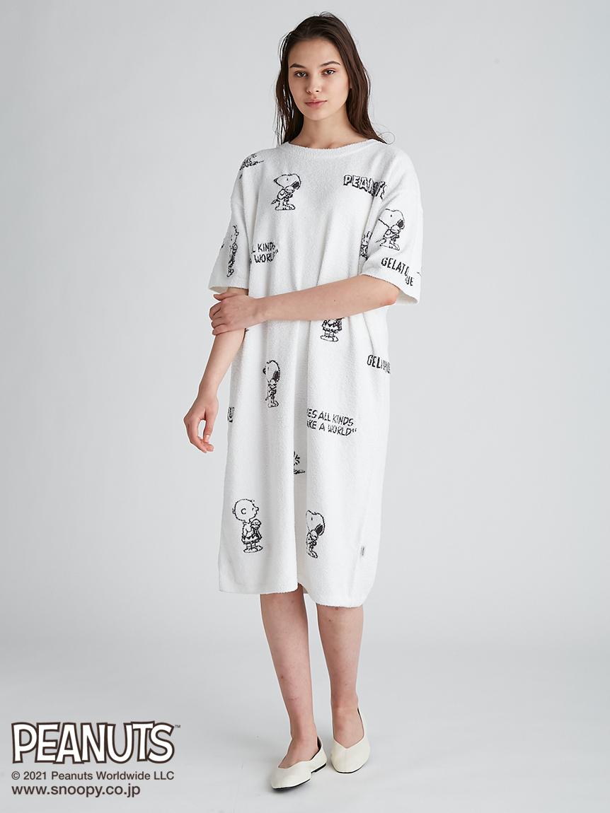 【PEANUTS】モノグラムジャガードドレス | PWNO212037