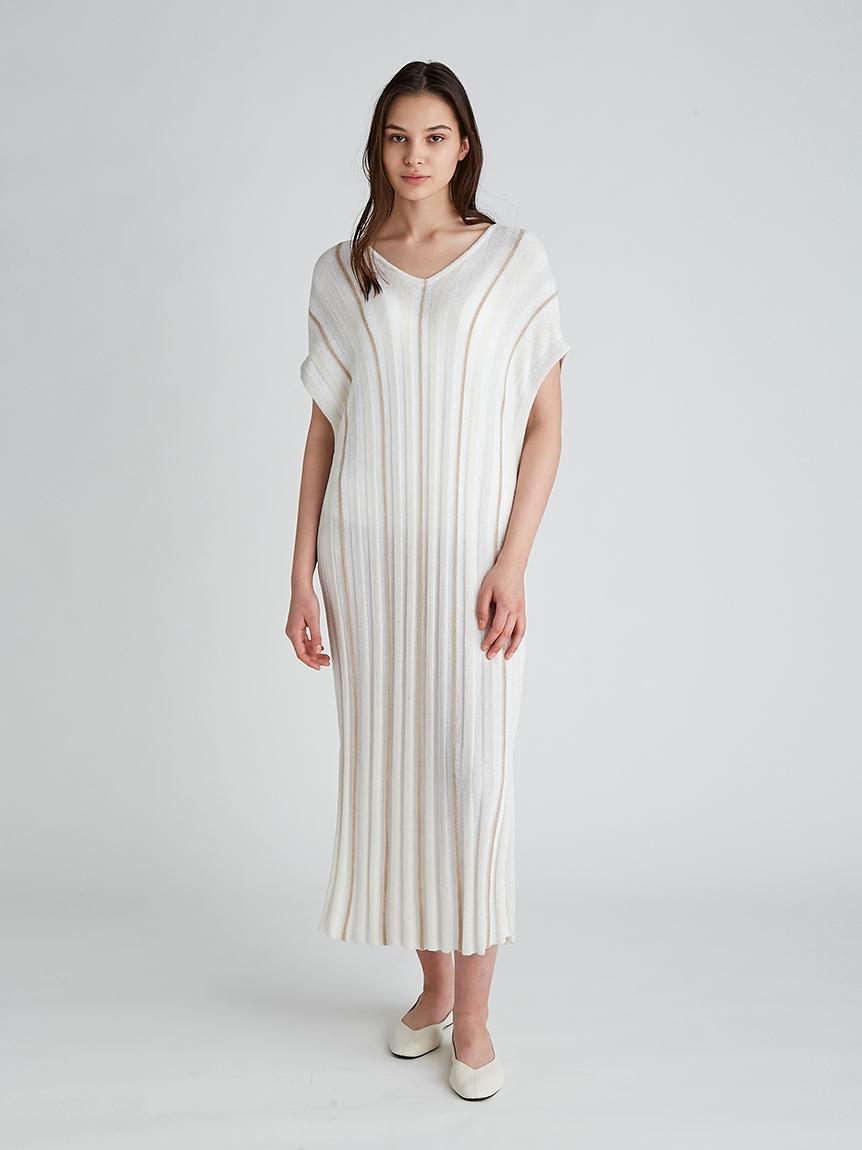'スムーズィーライト'COOLストライプドレス | PWNO212080