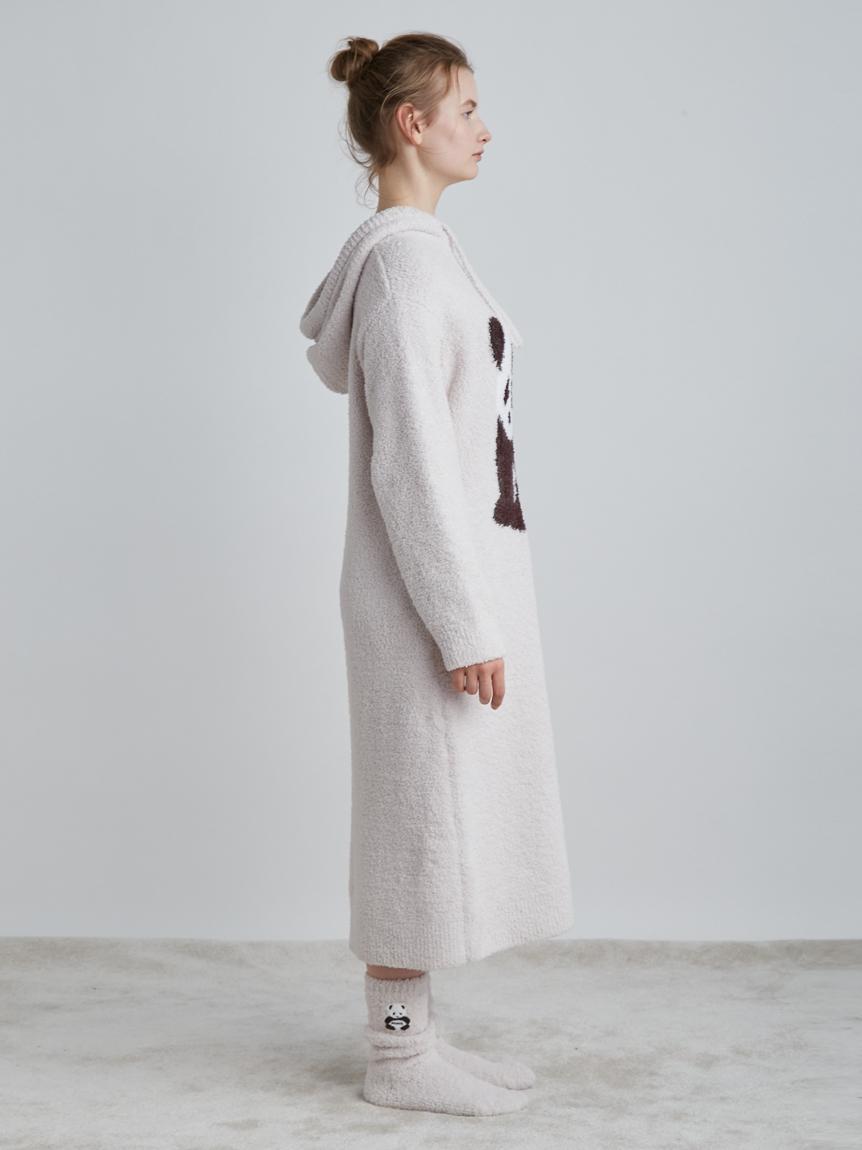 パンダジャガードフードドレス | PWNO214052