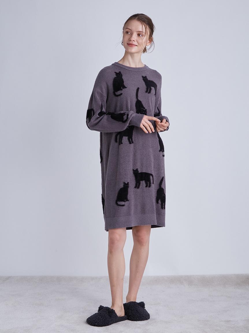 【LADIES】【Halloween限定】クロネコジャガードドレス   PWNO214087