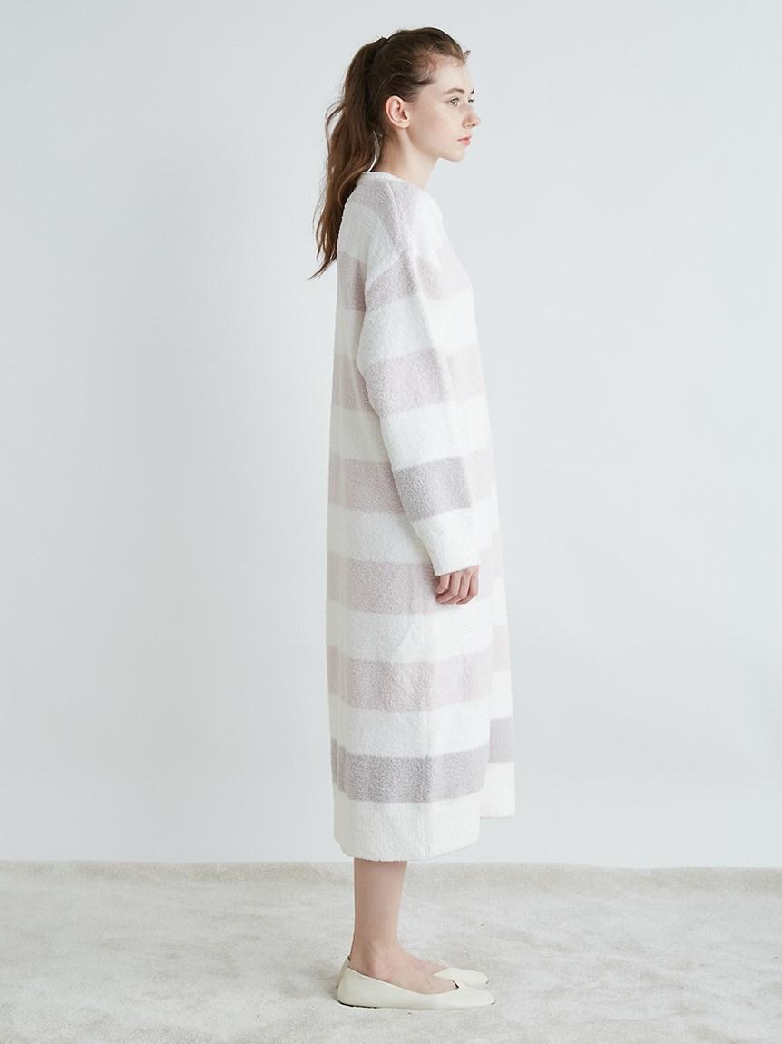 【ONLINE限定】パウダートリムボーダードレス   PWNO215015
