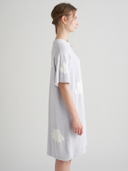 【ラッピング】くもジャガードドレス&ソックスSET | PWNO219085