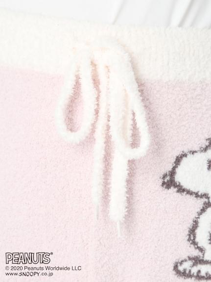 【PEANUTS】'ベビモコ'ボーダーロングパンツ | PWNP205040