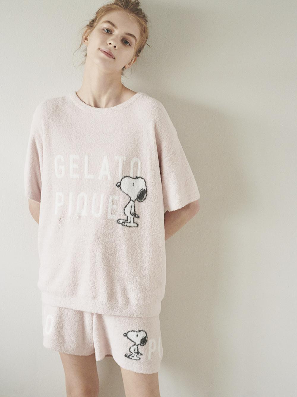 【PEANUTS】ロゴジャガードショートパンツ | PWNP212032