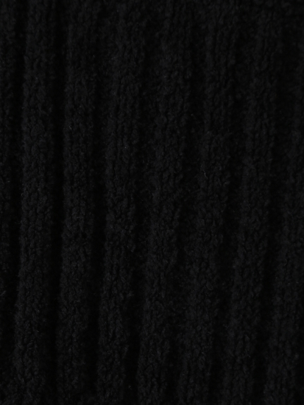 【Joel Robuchon & gelato pique】'スフレ'リブショールカーディガン | PWNT205112