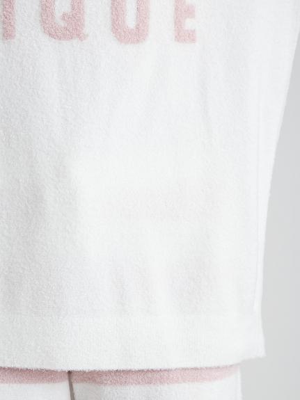 スムーズィー'ロゴジャガードプルオーバー&ボーダーショートパンツSET | PWNT211109