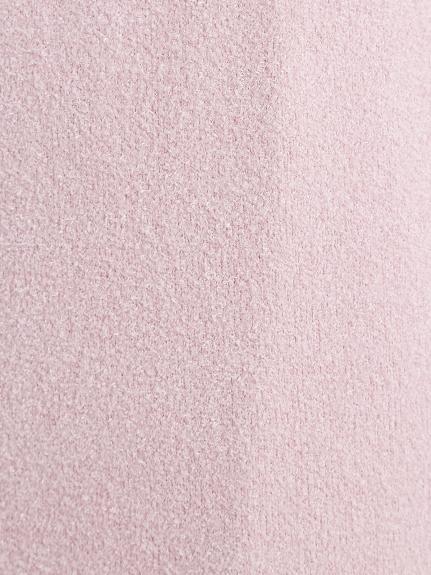 【SAKURA FAIR】'スムーズィーライト'スカラップロングカーディガン | PWNT211117