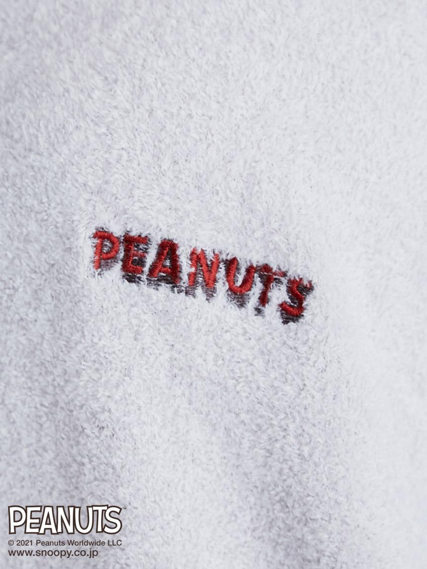 【PEANUTS】ロゴジャガードパーカ | PWNT212030