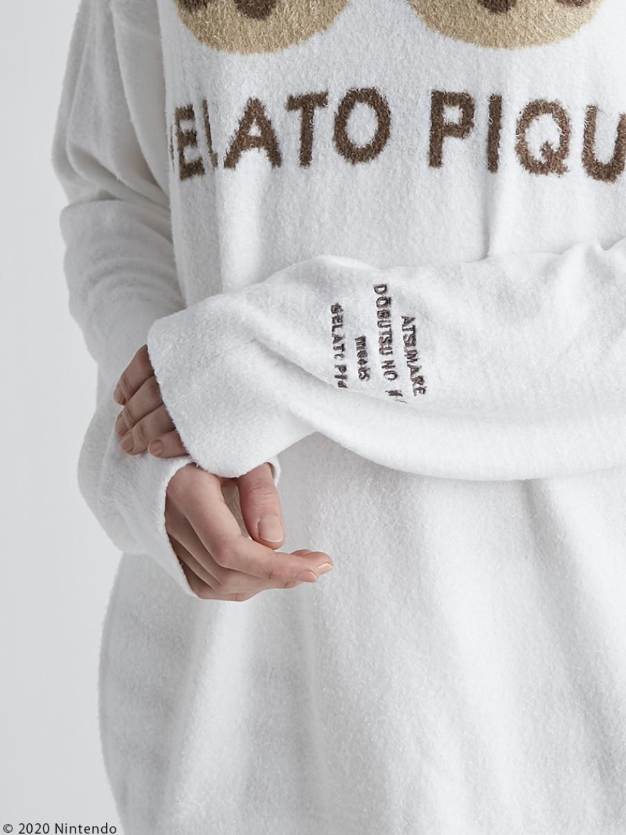 【受注生産】【New】スムーズィーつぶまめジャガードプルオーバー&ショートパンツ | PWNT212083