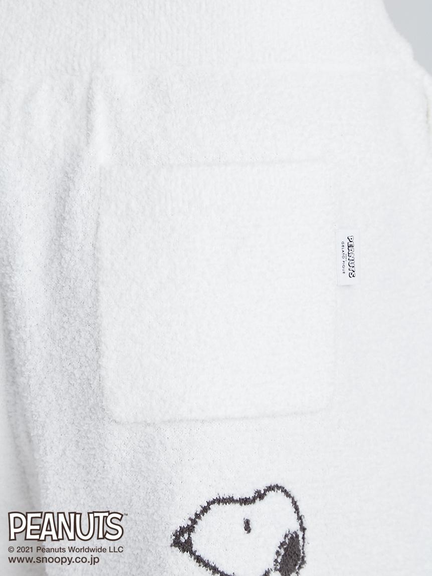 【ラッピング】【PEANUTS】モノグラムジャガードプルオーバー&ショートパンツSET | PWNT219235
