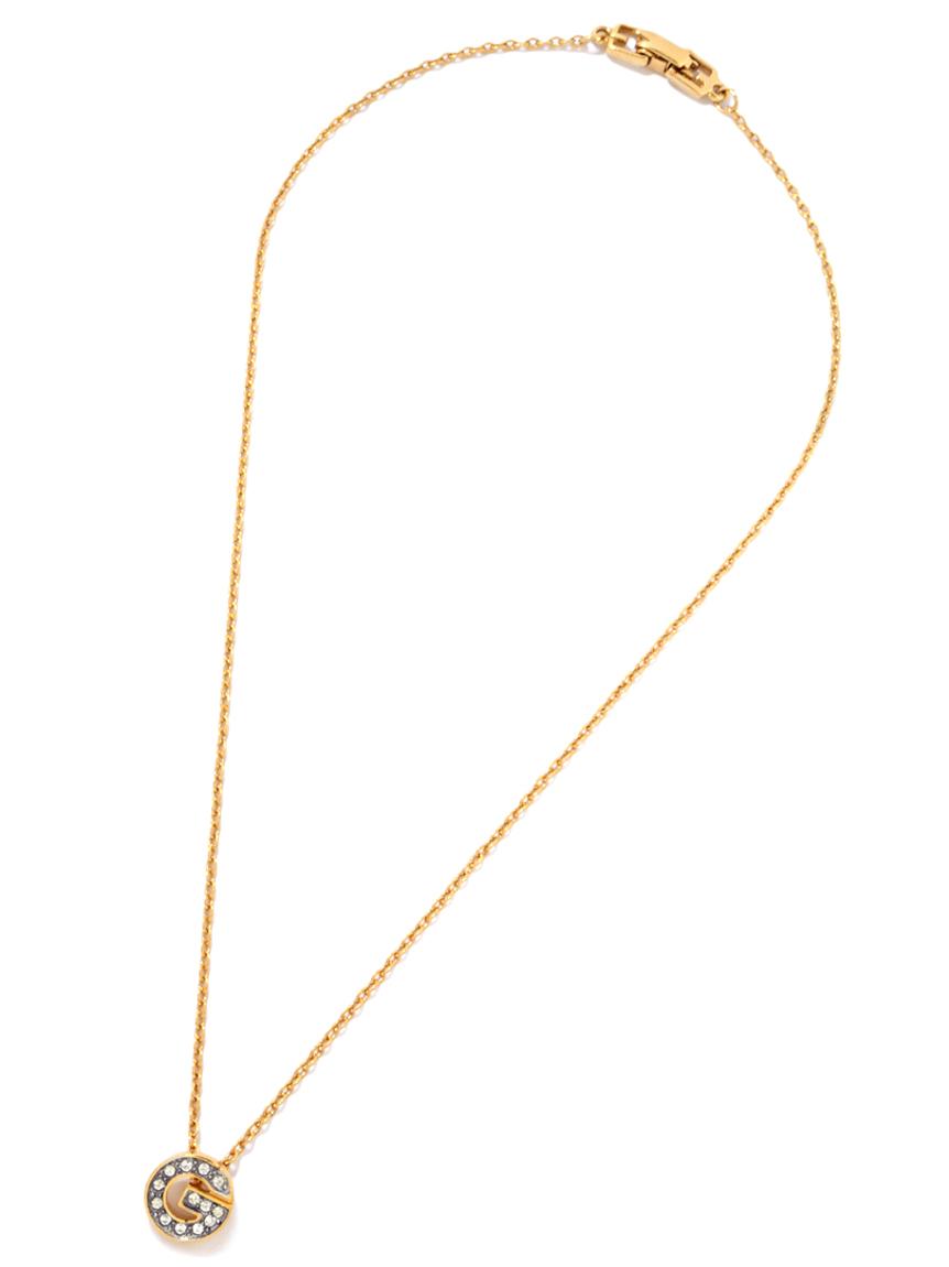 Givenchy Gロゴネックレス(--F)