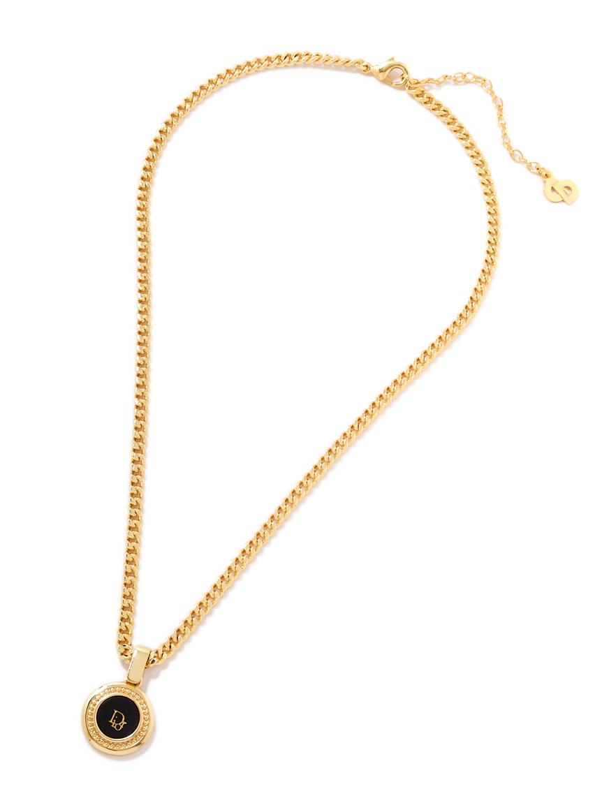 Christian Diorサークルロゴネックレス