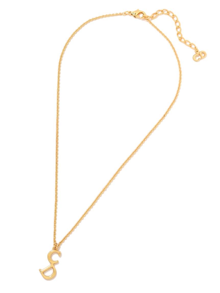 Christian Diorシンプルロゴネックレス