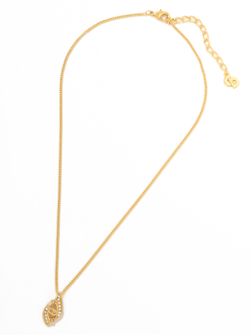 Christian Dior CDロゴネックレス(--F)