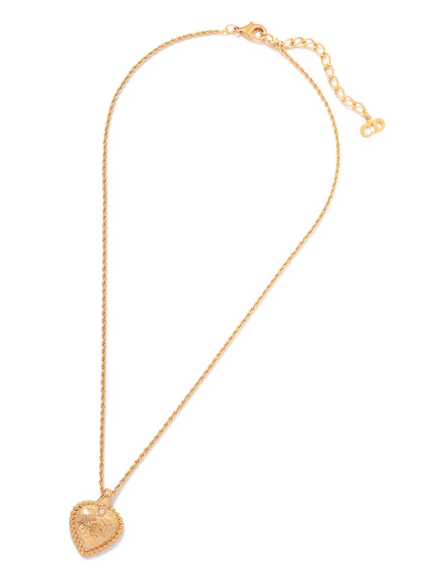 Christian Dior ラインストーンネックレス
