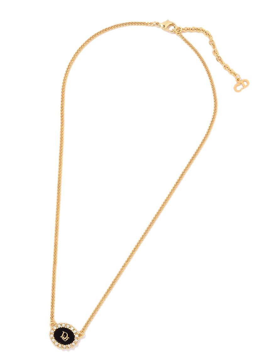 Christian Dior ロゴネックレス(--F)