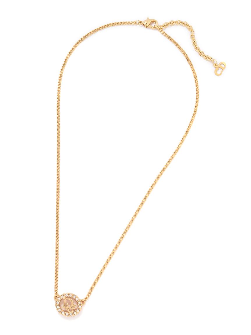 Christian Dior ロゴネックレス
