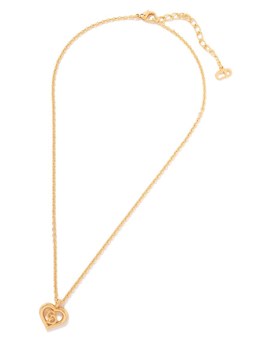 Christian Dior CDロゴネックレス