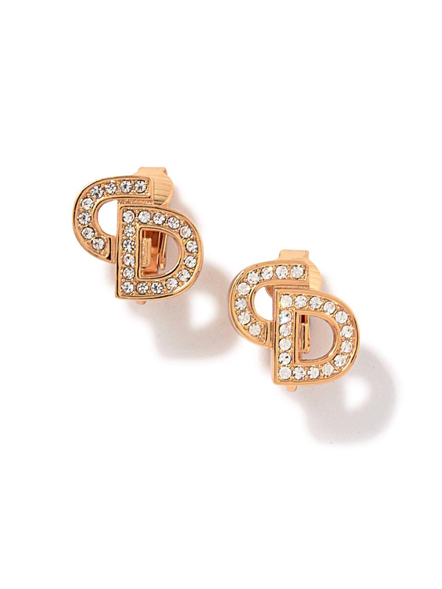 Christian Dior ロゴイヤリング