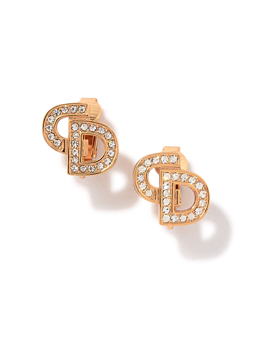 Christian Dior ロゴイヤリング(--F)