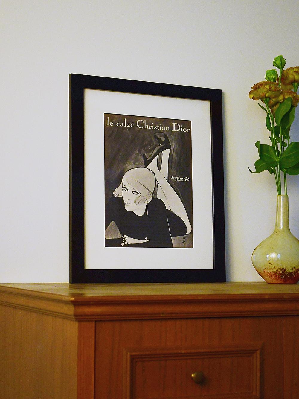 Christian Dior 1967 ストッキング(--F)