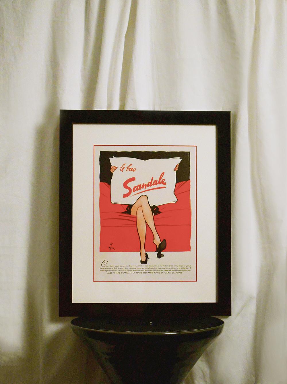 Scandale 1952 ストッキング