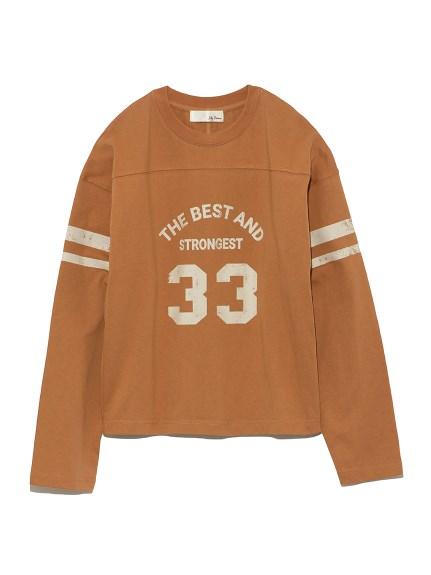 ナンバリングTシャツ(BRW-F)