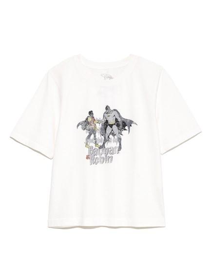 【限定】BATMANピグメント加工Tシャツ(OWHT-F)