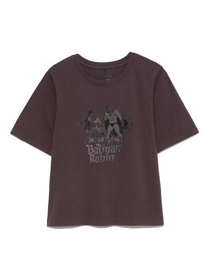 【限定】BATMANピグメント加工Tシャツ(CGRY-F)