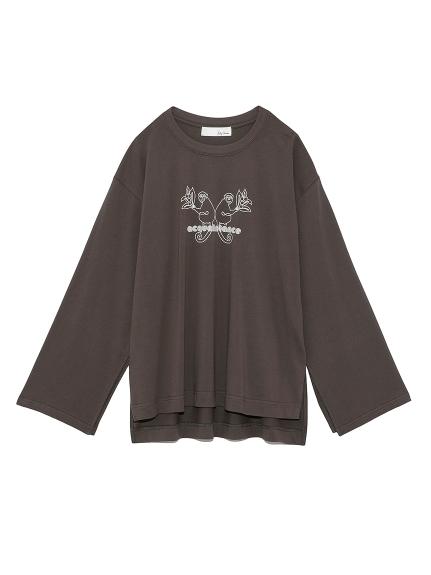 モンキーロゴTシャツ(CGRY-F)