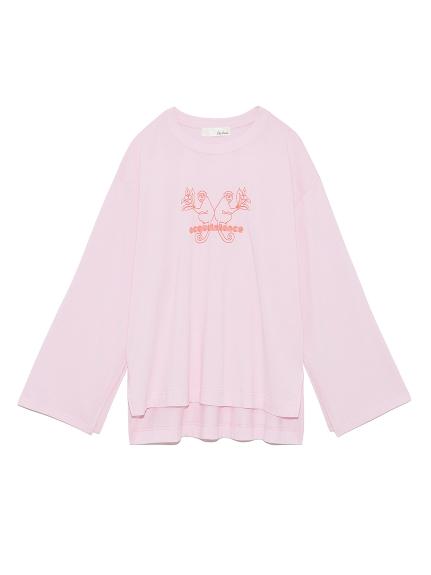 モンキーロゴTシャツ(PNK-F)