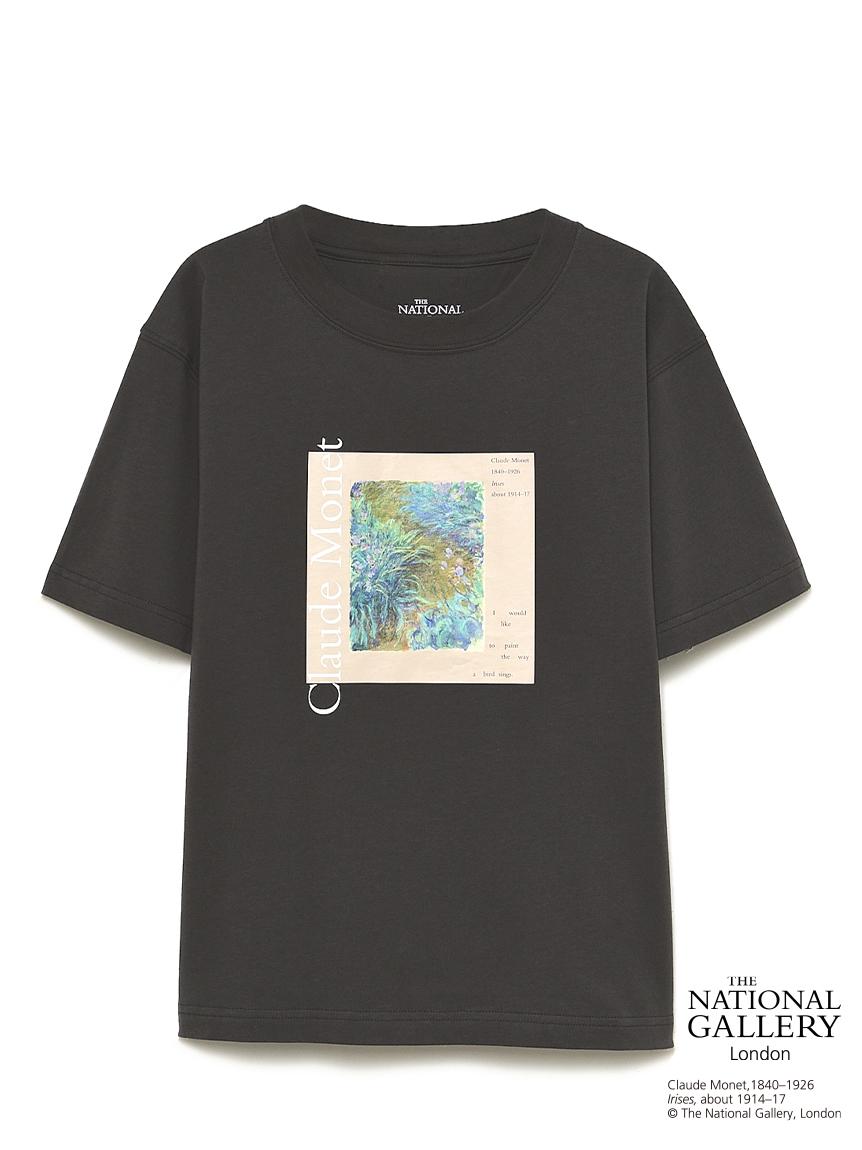 【The National Gallery, London】Claude Monet アートTシャツ(BEG-F)