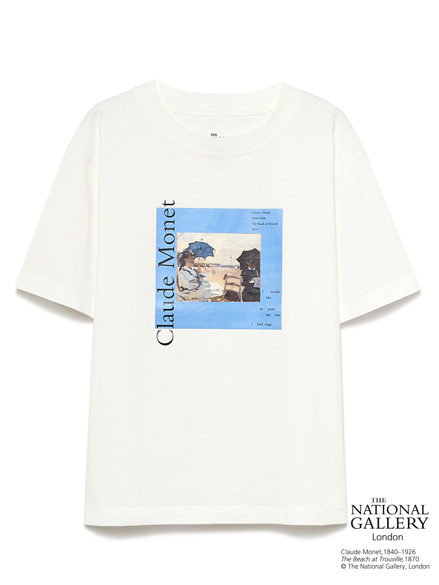 【The National Gallery, London】Claude Monet アートTシャツ(BLU-F)