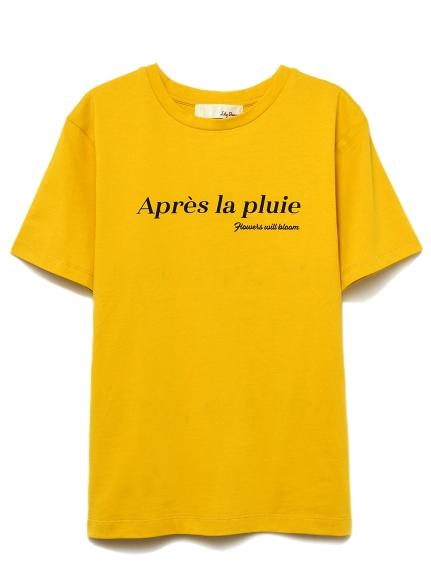シンプルロゴTシャツ(YEL-F)