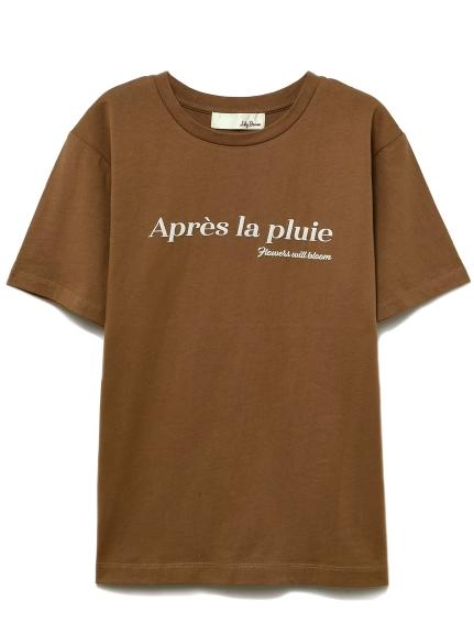 シンプルロゴTシャツ(MOC-F)