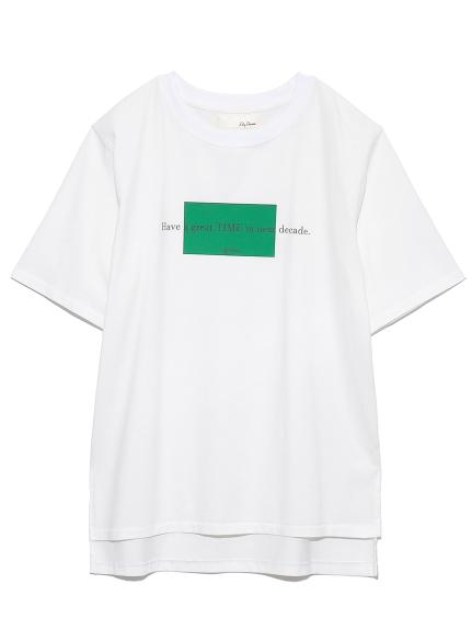 DECADE-Tシャツ(WHT-F)