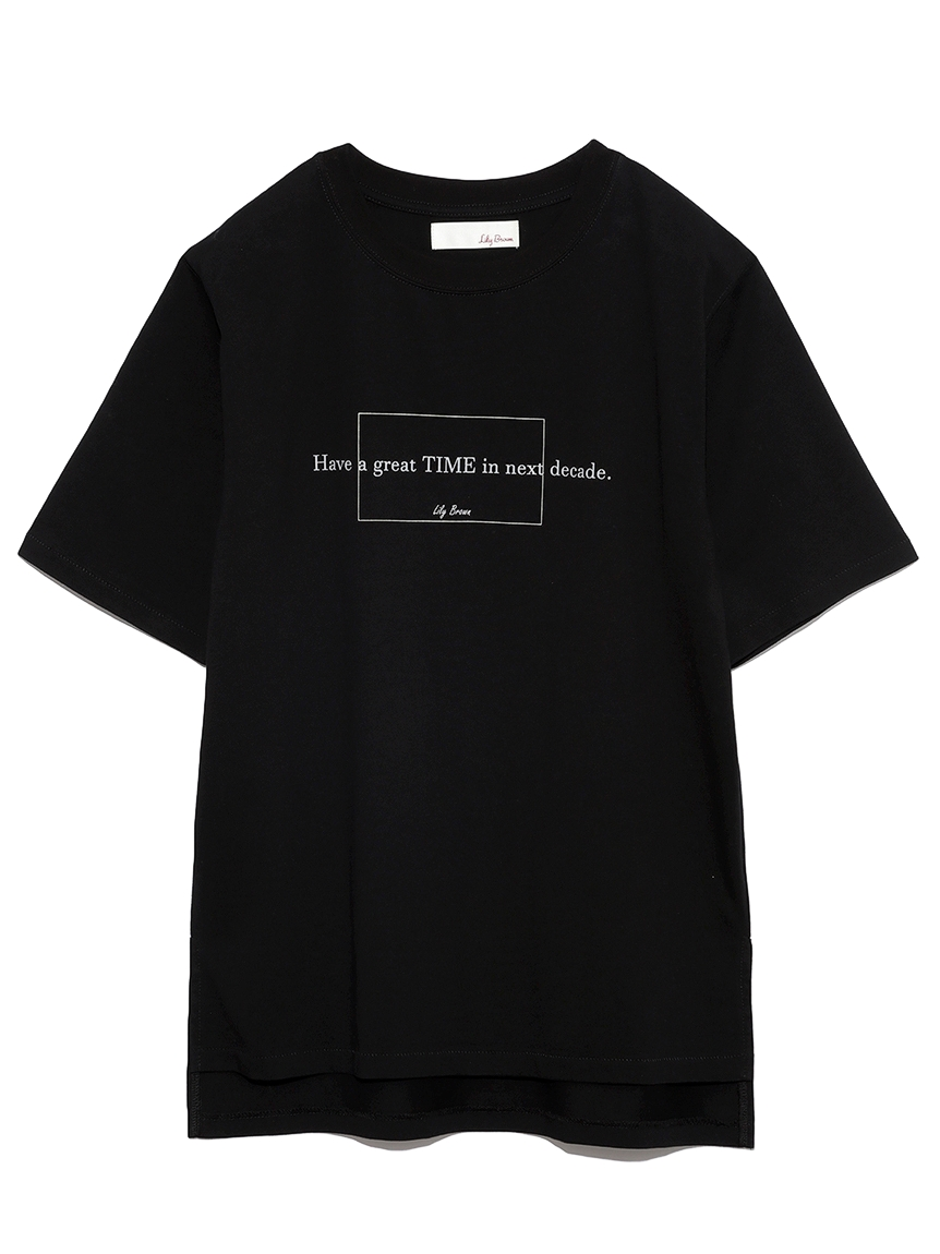 DECADE-Tシャツ(BLK-F)