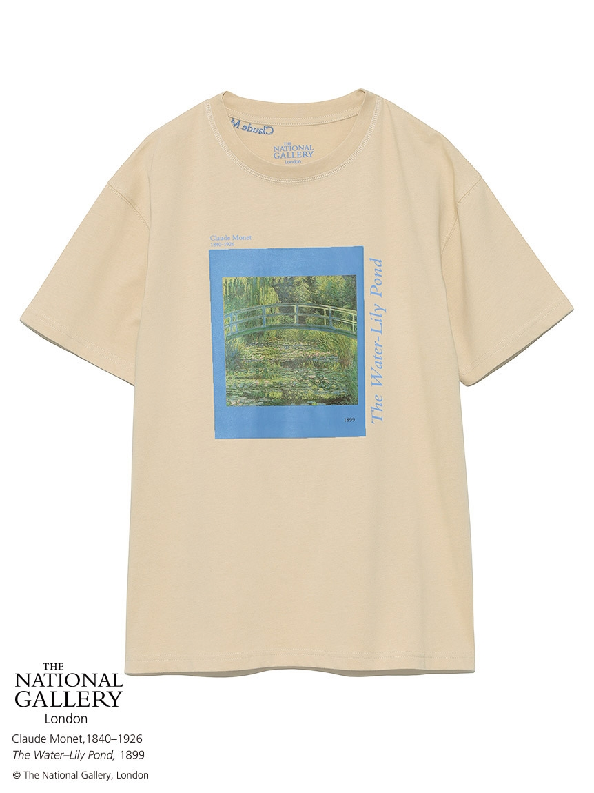 【The National Gallery, London】アートTシャツ(BEG-F)