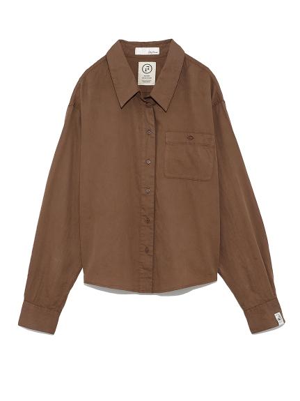 フードテキスタイルシャツ