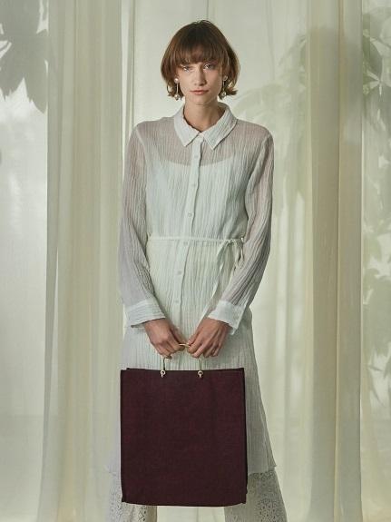 バリエーションロングシャツ(WHT-F)