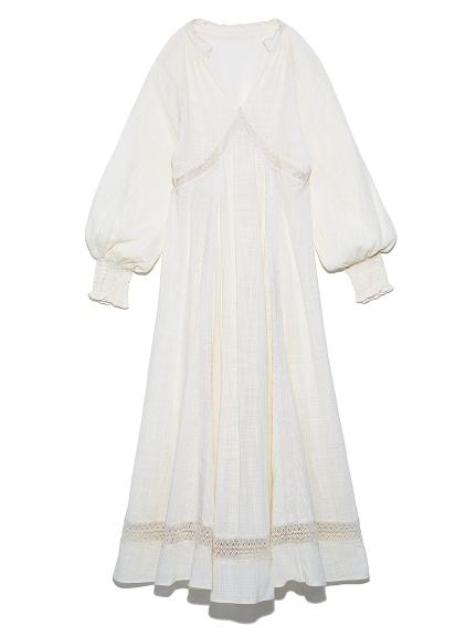ヴィンテージレースナイトドレス(OWHT-F)
